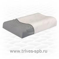 Ортопедическая подушка массажная из натурального латекса ТОП-213