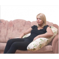 Подушка для отдыха (35х195 см) Рогалик большой